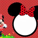 Free Minnie Mouse Party Invitation Template 150x150