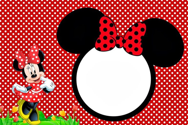 free minnie mouse party invitation template | invitations online, Invitation templates