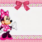 Free Minnie Mouse Printable Invitation Template 150x150