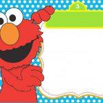 Free Printable Elmo Innvitation 150x150
