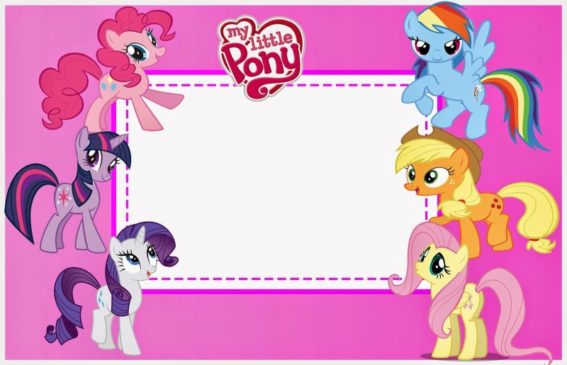 My little pony birthday invitations gangcraft my little pony free printable invitation templates birthday invitations filmwisefo