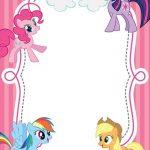 Free Printable My Little Pony Invitations 150x150