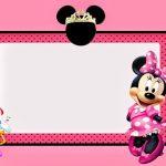 Minnie Mouse Invitation Printable 150x150