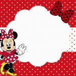 Minnie Mouse Printable Party Invitation Template for Girls 150x150