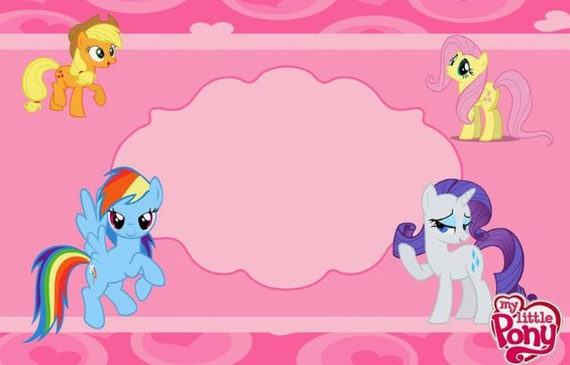 image relating to My Little Pony Invitations Free Printable named My Small Pony Free of charge Printable Invitation Templates