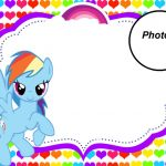 My Little Pony Party Invitation with photo 150x150