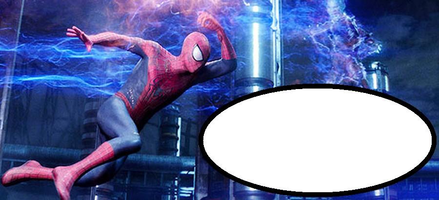 Spiderman 2 Invitation Template