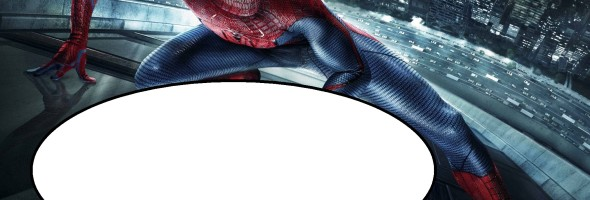 Spiderman invitation 590x200