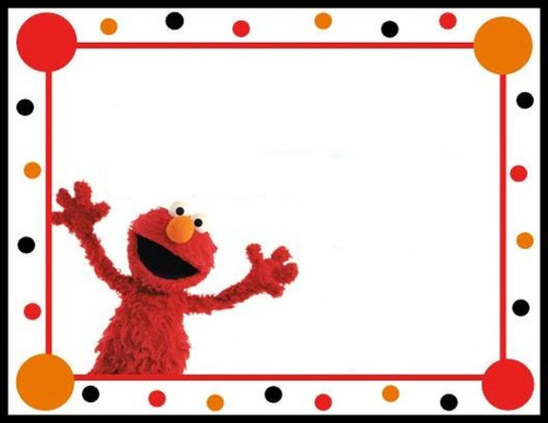 elmo invitation free template Invitations Online