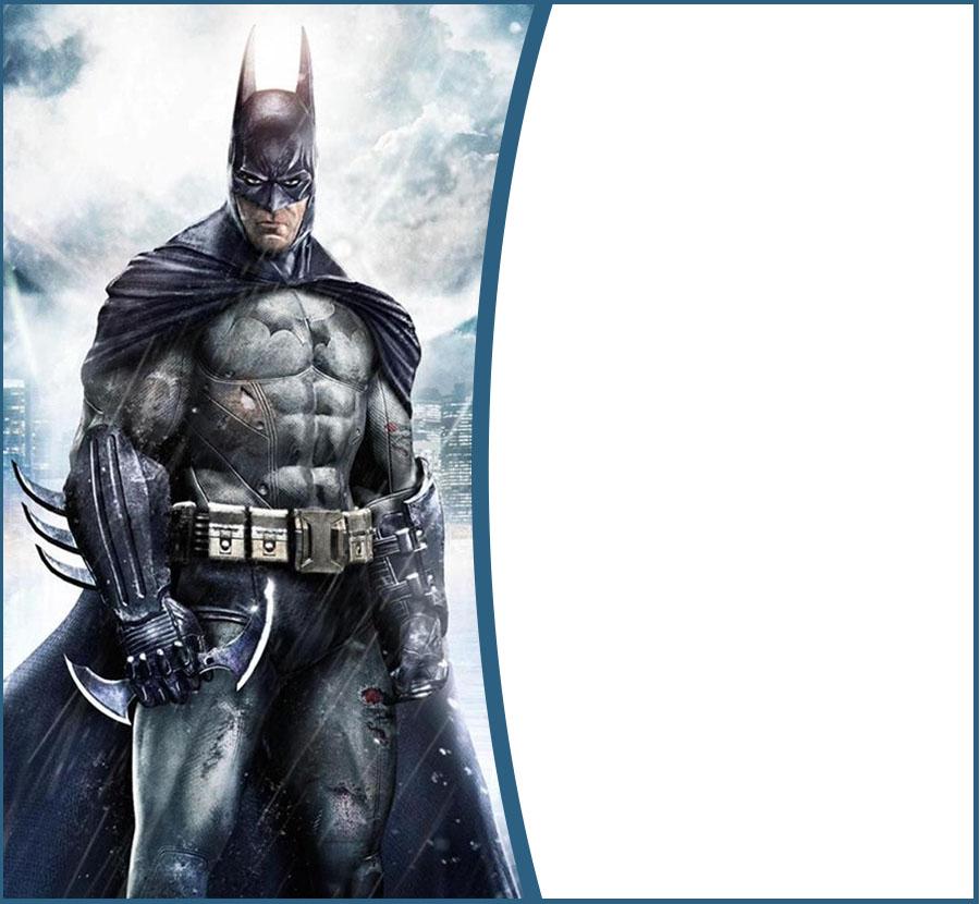 free batman invitation