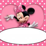 minnie mouse birthday invitation template 150x150