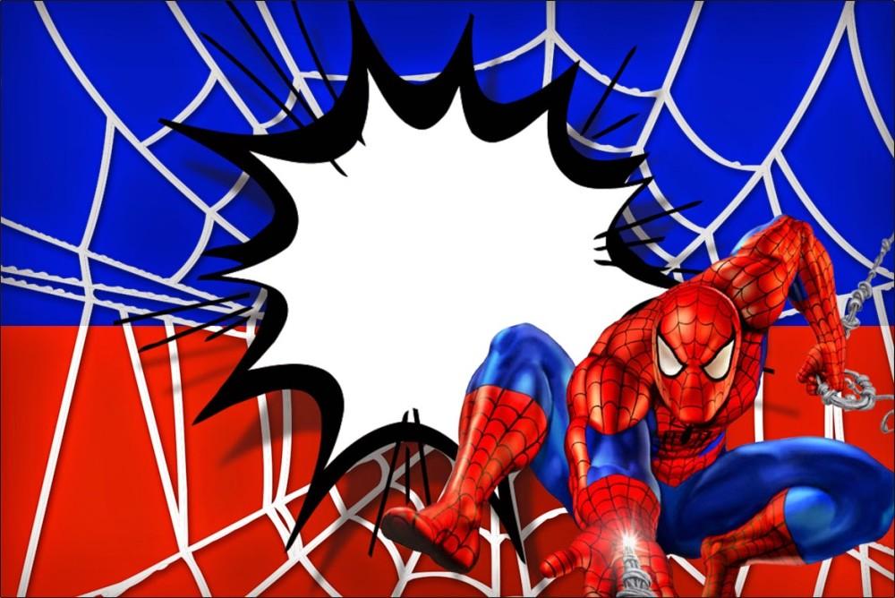 Spiderman Invitation Free Printable