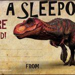 Sleepover invitation sample 150x150
