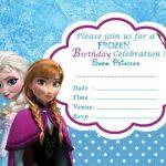 Disney Frozen Birthday Party Invitation Template 150x150