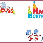 Dr Seuss Birthday Party Invitation Template 150x150