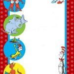 Dr Seuss Invitation 150x150