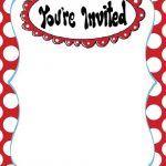 Dr Seuss Invitation Template 150x150