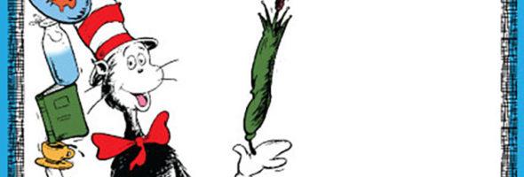 Dr Seuss Invitatons 590x200
