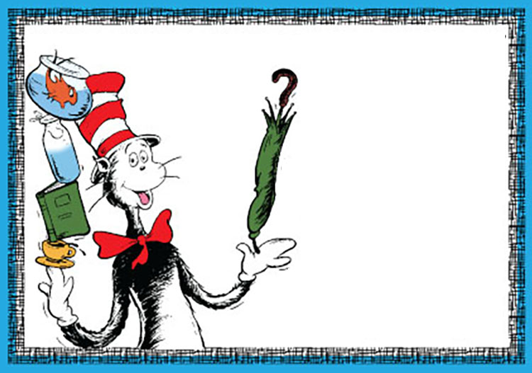 Dr Seuss Invitatons