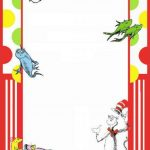 Free printable invitation templates for Dr seuss birthday card template