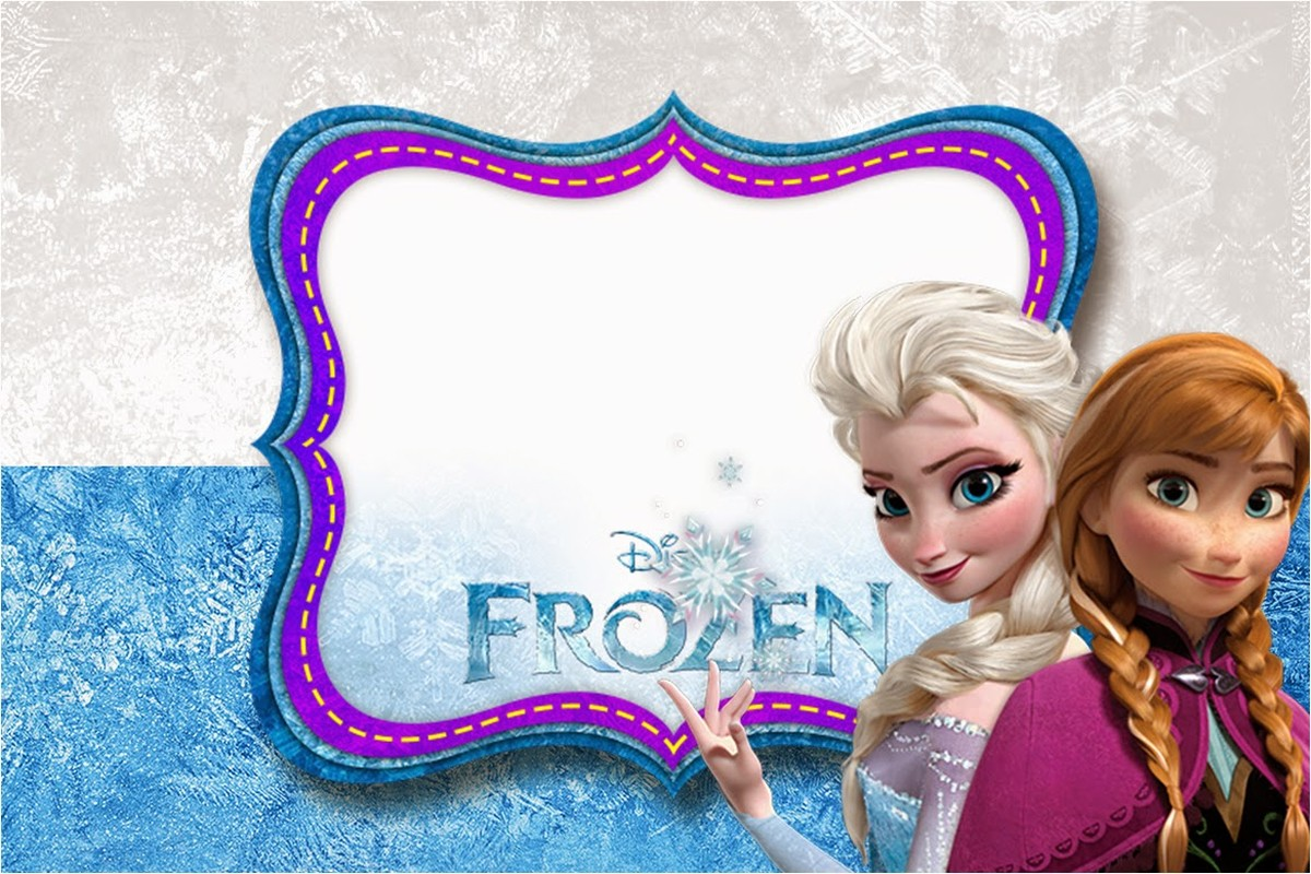 Frozen Birthday Party Invitation Free Printable