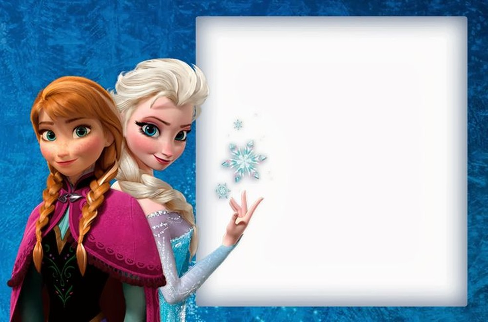Frozen Birthday Invitation Template - Birthday invitation frozen theme