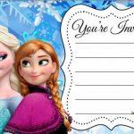 Frozen Printable Invitation 150x150