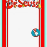 Printable Dr Seuss Invitation Template 150x150