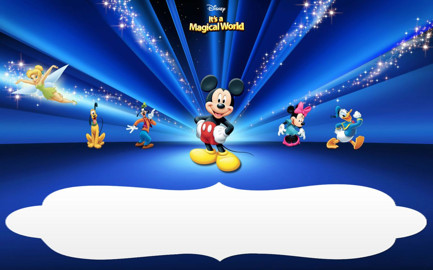 Free Printable Mickey Mouse Invitation