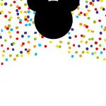 Printable Mickey Mouse Invitation 150x150