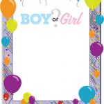 Boy or Girl Invitation Template 150x150