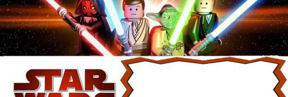Free Printable Birthday Initation Lego Star Wars 590x200