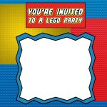 Lego Party Invitation Template Free 150x150