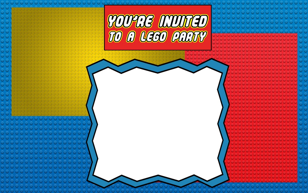 Attractive Free Printable Lego Party Invitations Gallery - Resume ...