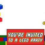 Lego Party Printable Invitation Template 150x150