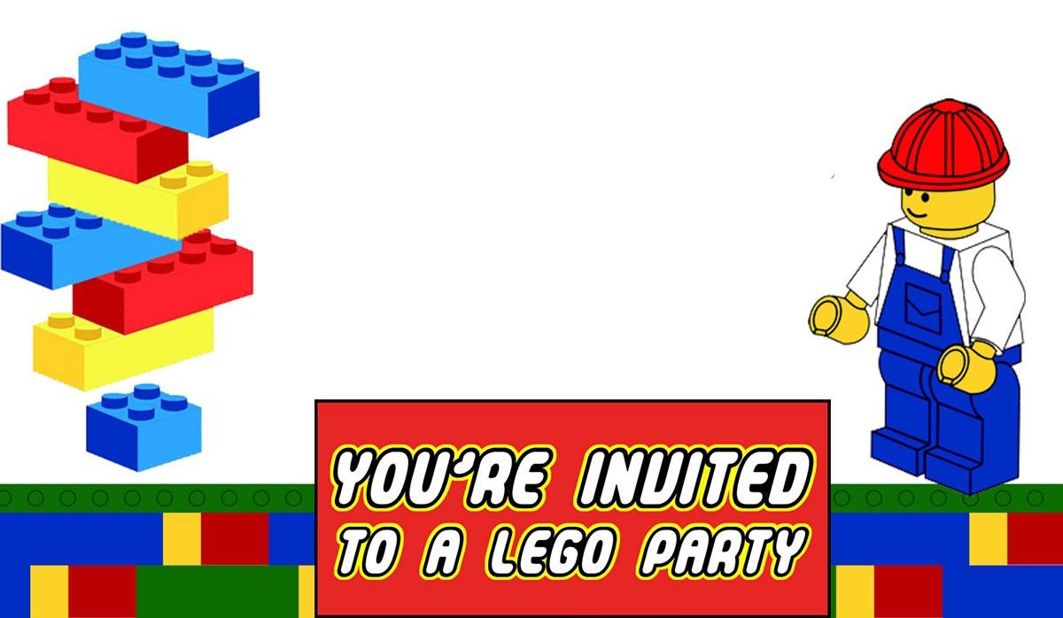 Free Printable Lego Invitation Templates | Invitations Online