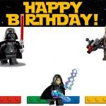 Lego Star Wars Birthday Invitation Template 150x150