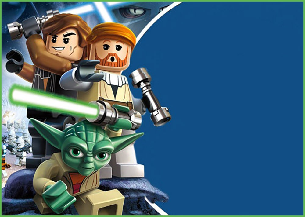 Lego Star Wars Invitation Template | Invitations Online