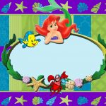 Little Mermaid Invitations 150x150