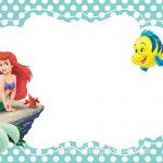 Printable Little Mermaid Invitation 150x150