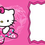 Cute Hello Kitty Party Invitaton Card 150x150