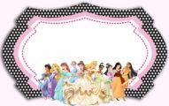 Disney Princesses Birthday Party Invitation 191x120