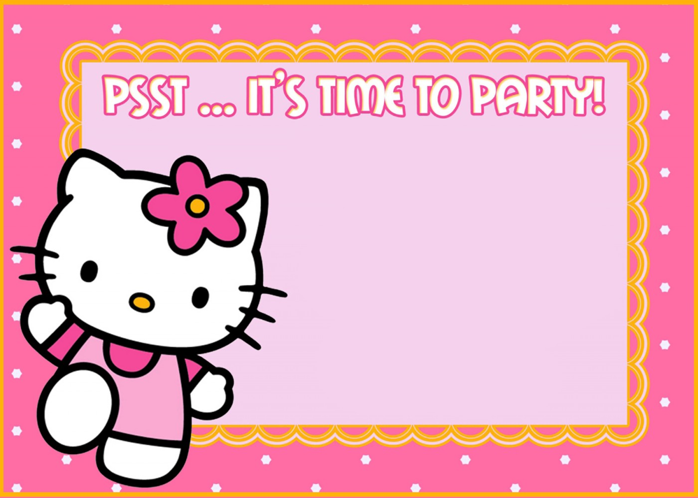 free printable hello kitty birthday invitations Minimfagencyco