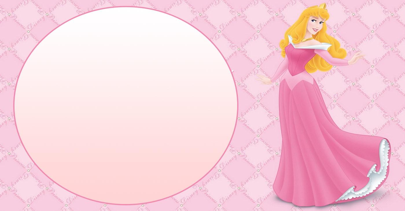 Free Printable Disney Princesses Birthday Invitation