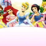 Free Printable Disney Princesses Invitation Template 150x150