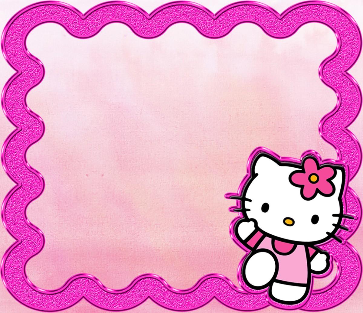 hello kitty invitations printable