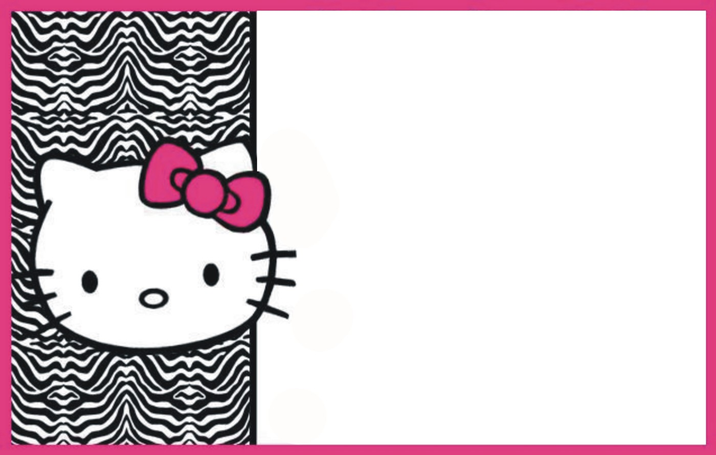 Hello Kitty Free Printable Invitation Templates ...