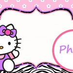 Personalized Hello Kitty Invitation Template 150x150