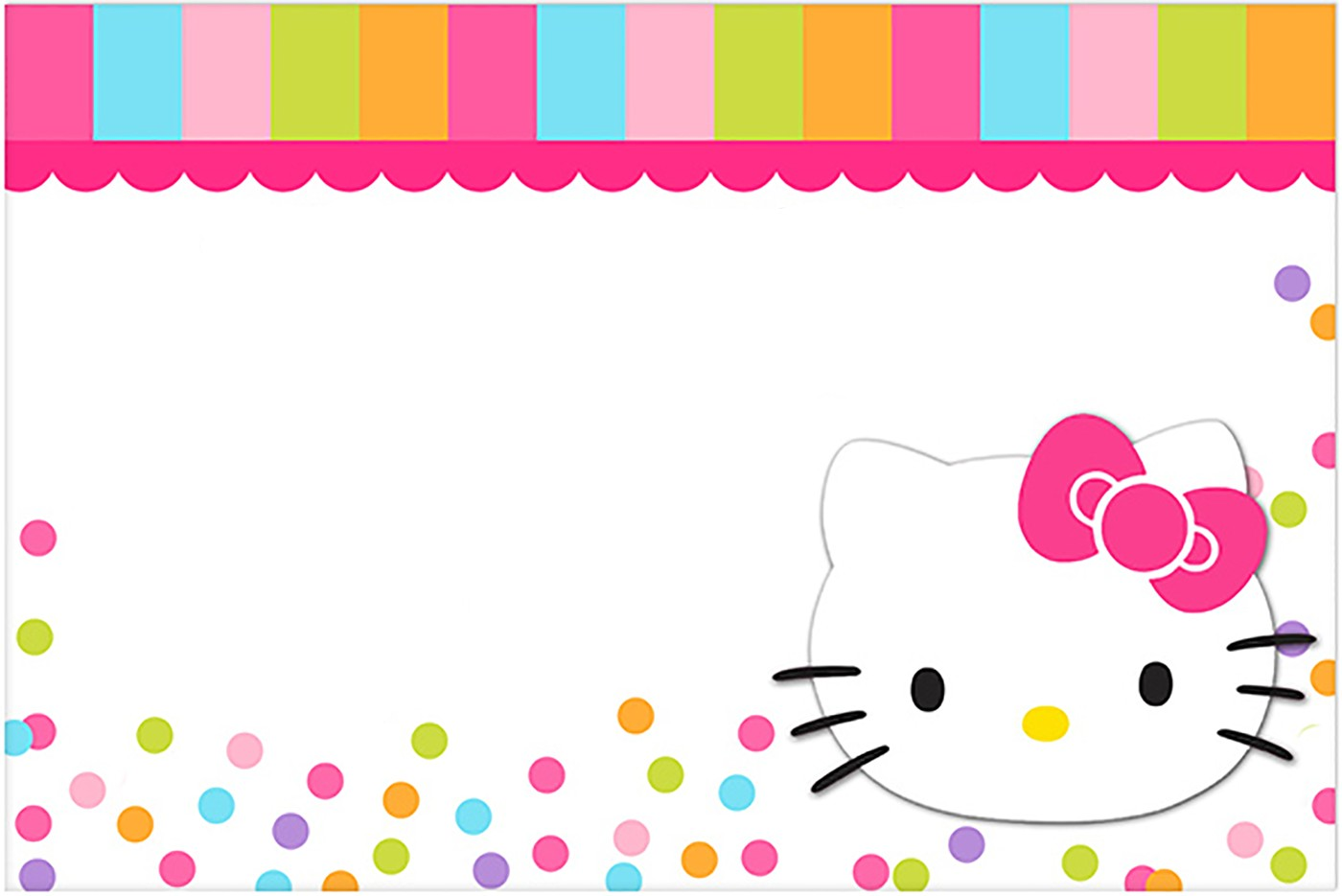 Hello kitty invites yelomdiffusion hello kitty free printable invitation templates filmwisefo
