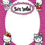 Youre invited to Hello Kitty Birthday Party 150x150